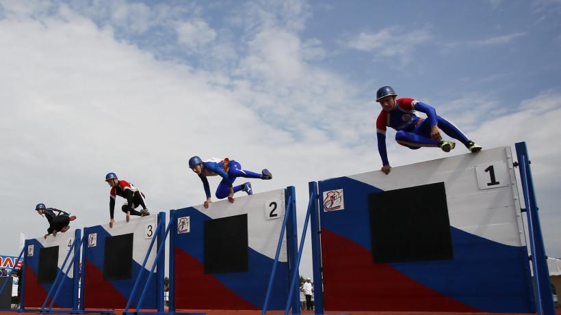 Соревнования МЧС по пожарно-спасательному спорту начались в Подольске