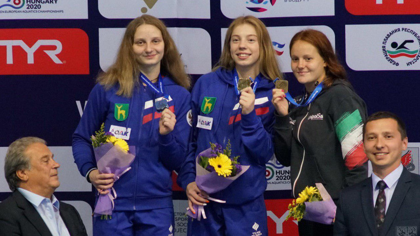 Спортсменка из Подмосковья завоевала серебряную медаль на первенстве Европы по прыжкам в воду