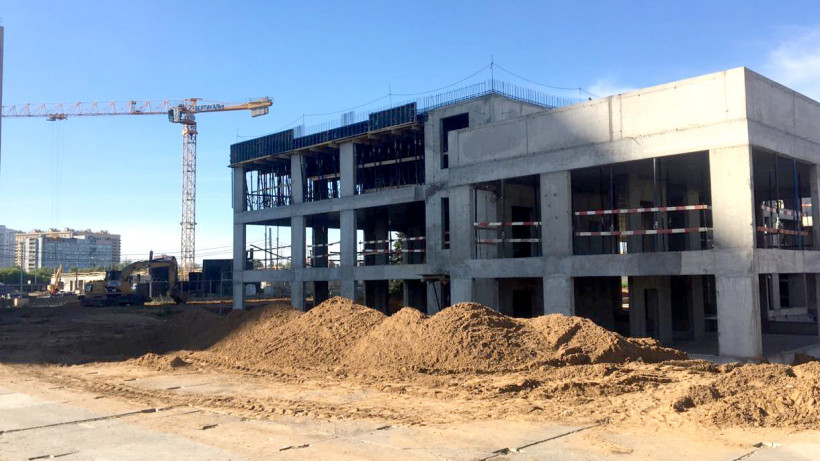 Строительство детского сада на 350 мест завершат до конца 2020 года в Котельниках
