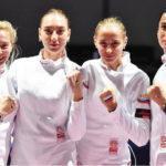 Татьяна Андрюшина завоевала серебро на чемпионате Европы по фехтованию