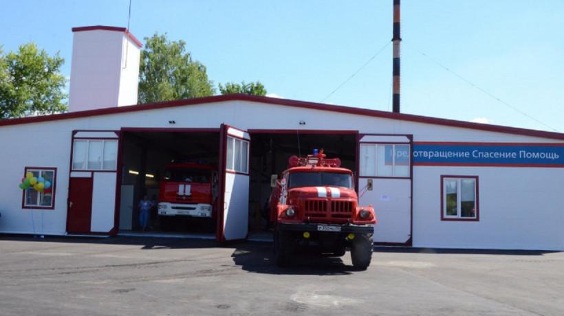 Три новых пожарных депо появятся в Солнечногорске