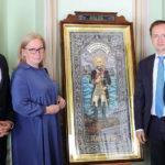 Уникальную икону Федора Ушакова передали РВИО