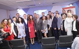 В День молодёжи Павел Колобков встретился со студентами российских вузов на площадке Дискуссионного клуба «Валдай»