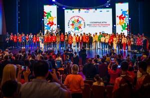 V Всемирные игры юных соотечественников стартовали в Ханты-Мансийске