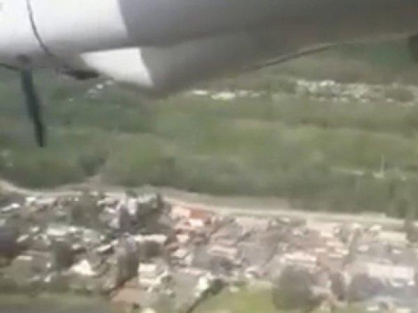 Видео жесткой посадки Ан-24 в Бурятии появилось в Сети