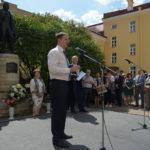 Владимир Мединский принял участие в праздновании 220-летия со дня рождения Пушкина в Петербурге