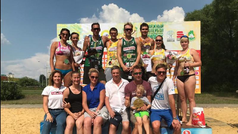 Волейболисты из Московской области стали победителями первого этапа чемпионата России
