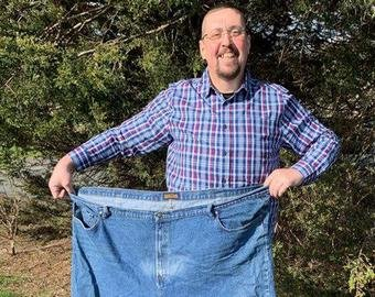 Вопрос внука заставил мужчину похудеть на 150 килограммов