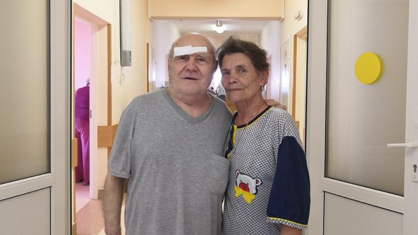 Врачи Раменской районной больницы провели сложную операцию на глазах 82-летнему пациенту