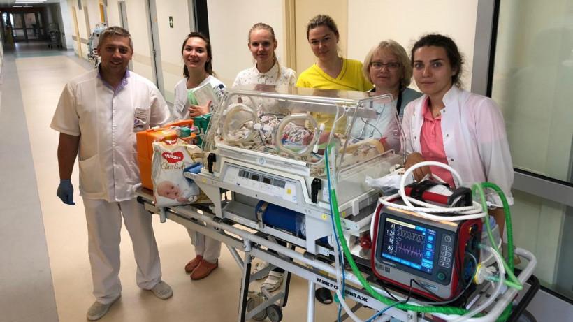 Врачи выходили ребенка весом 740 граммов в Наро-Фоминском перинатальном центре