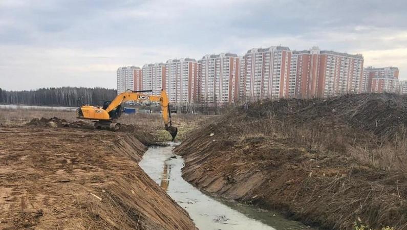 Загрязнение почв и реки прекратилось в округе Солнечногорск после вмешательства Минэкологии