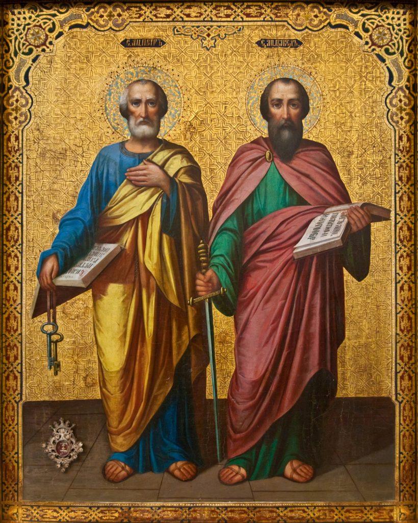 12 июля 2019 года отмечается День Петра и Павла