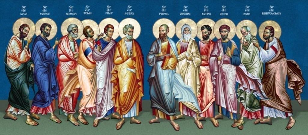 13 июля 2019 года отмечается Собор Двенадцати апостолов