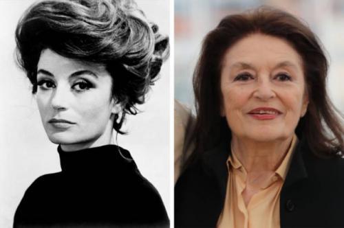 Анук Эме начала карьеру актрисы в 1946 году. Красивая француженка сыграла более 70 ролей. Завоевала множество национальных и международных кинопремий. В этом году ей исполнилось 87.