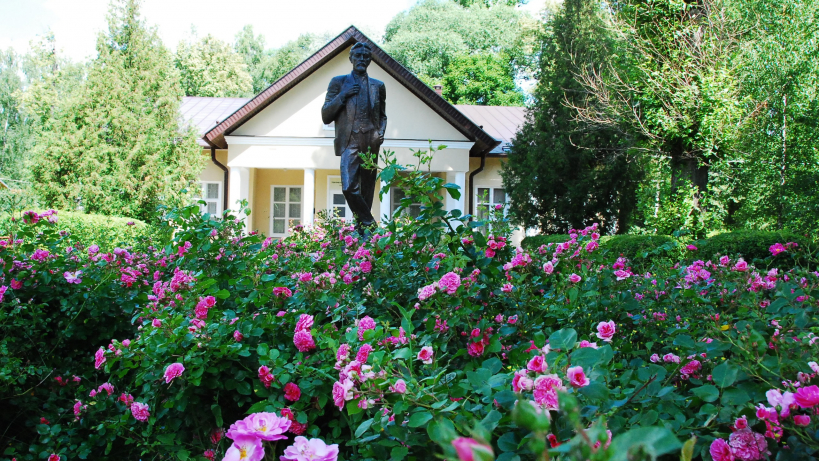 Музей-заповедник усадьба Мелихово летом