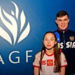 Акробатам Виктории Аксеновой и Кириллу Старцеву присвоено почётное звание «Мастера спорта России международного класса»