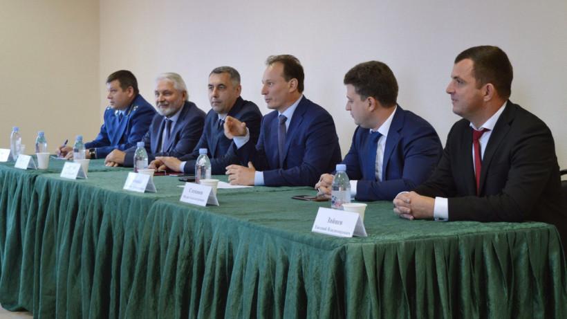 Бизнес-омбудсмен Подмосковья встретился с участницами проекта «Нежный бизнес» в Волоколамске