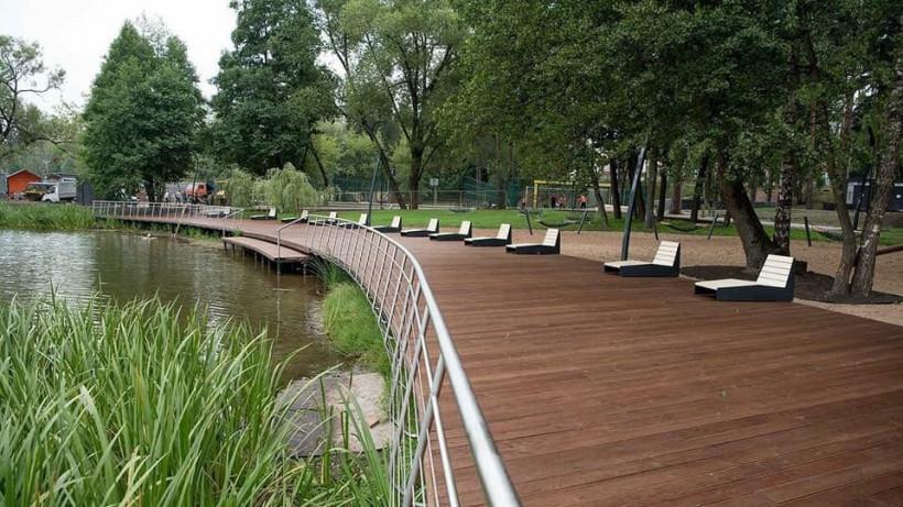 Благоустройство парков в Московской области даст импульс малому бизнесу