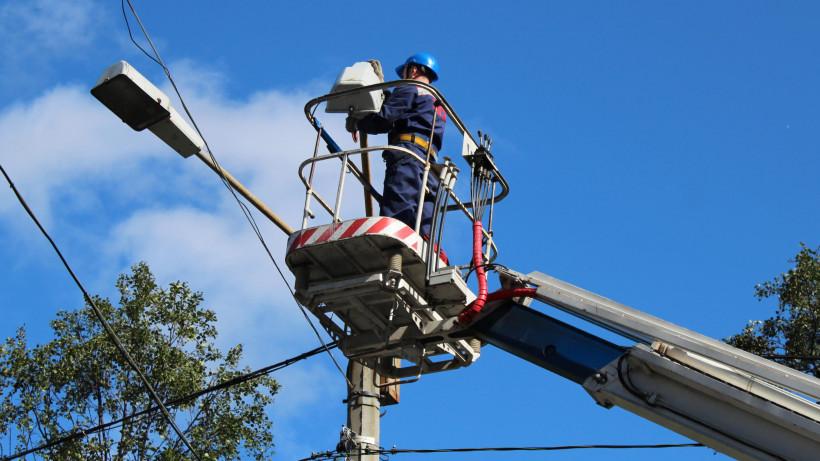 Более 1 тыс. социально важных объектов подключили к электричеству в Подмосковье с января