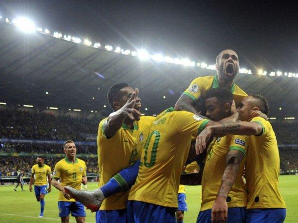 Бразилия выиграла у Аргентины на Кубке Америке