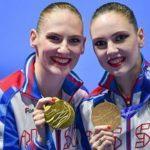 Чемпионат мира по водным видам спорта: синхронистки Светлана Ромашина и Светлана Колесниченко одержали победу в технической программе дуэтов