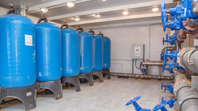 Новую станцию водоподготовки открыли в селе Усово Одинцовского горокруга