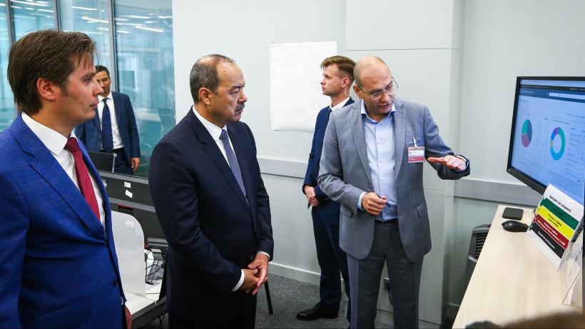 Делегация Узбекистана ознакомилась с работой подмосковного Центра управления регионом