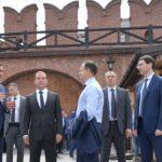 Дмитрий Медведев осмотрел строящийся музейный квартал в Туле