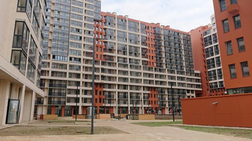 Дом с подземным паркингом в ЖК «Отрада» построили Красногорске