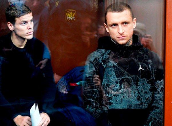 Футболистов Мамаева и Кокорина этапировали в колонию