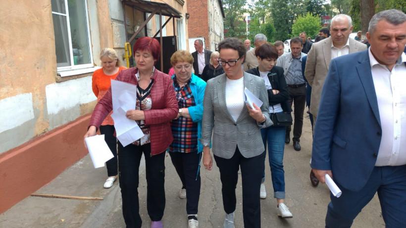 Глава Госжилинспекции Подмосковья проверила подготовку жилого фонда Наро-Фоминска к зиме