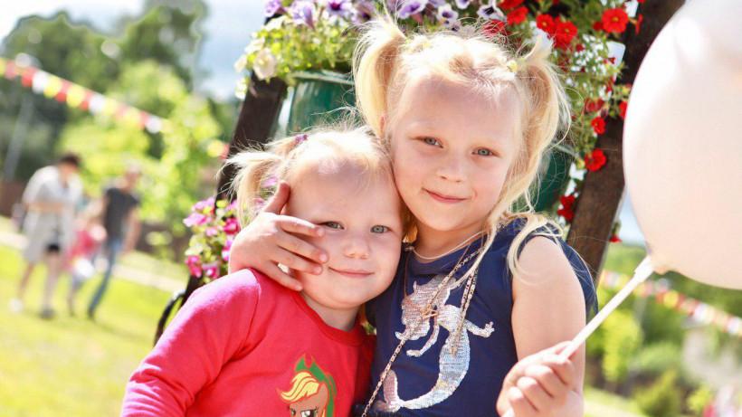 Глава Подольска вместе с детьми запустил новый фонтан в микрорайоне Климовск