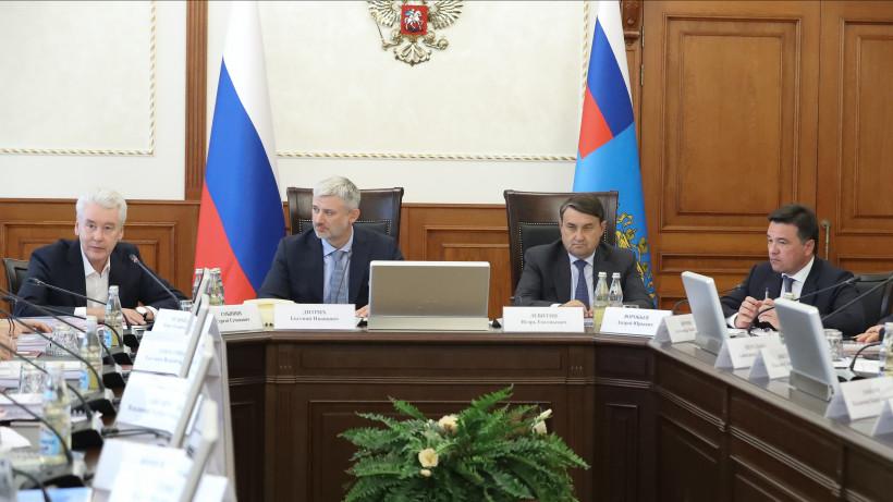 Губернатор принял участие в заседании Координационного совета по развитию транспортной системы Москвы и Подмосковья