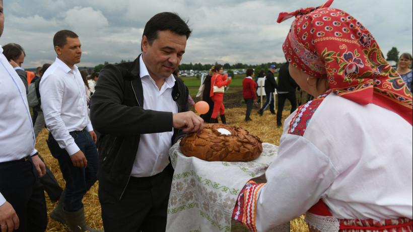 Губернатор провел рабочий визит в Дмитровский городской округ