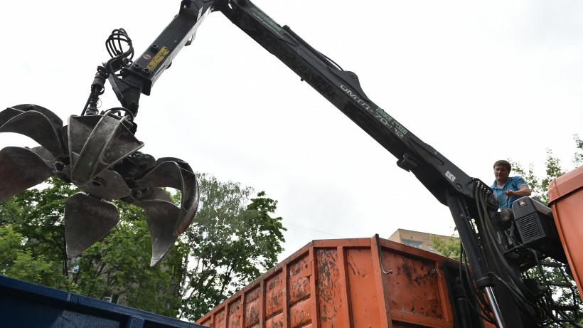 Водитель мусороуборочной машины
