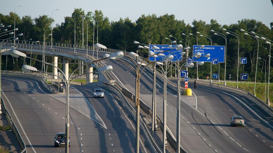 Комплекс фиксации средней скорости заработал на участке Ярославского шоссе в Московской области