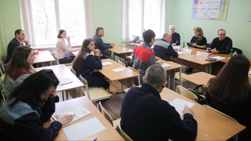 Экзаменационная площадка Центра оценки квалификации Подмосковья открылась в Люберцах