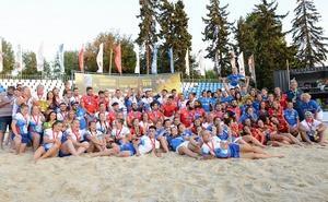 Мужская и женская сборные России по пляжному регби выиграли Чемпионат Европы
