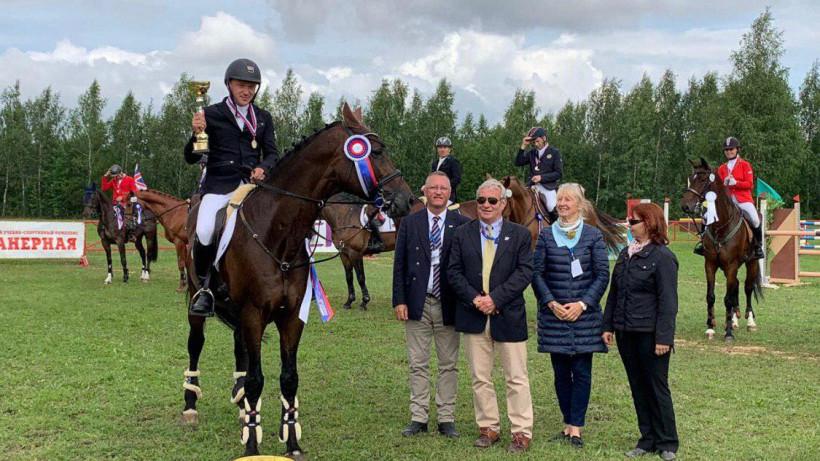 Наездники из Московской области завоевали медали чемпионата России по конному спорту