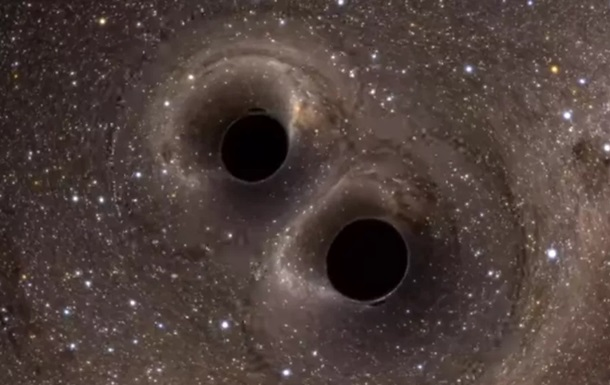 Найдены две «танцующих» сверхмассивных черных дыры