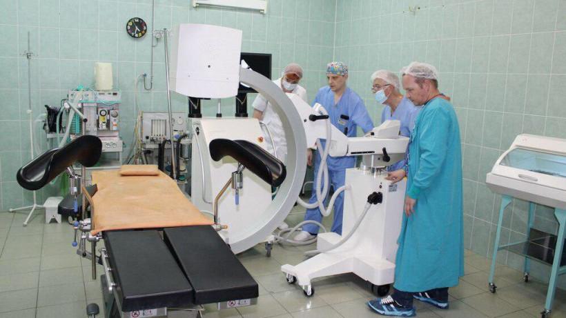 Новую рентгенохирургическую систему установили в Пушкинской больнице