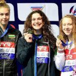 Пловчиха из Мытищ завоевала золотую медаль первенства Европы по плаванию