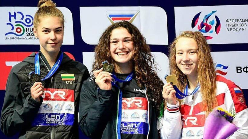 Пловчиха из Подмосковья завоевала бронзовую медаль первенства Европы