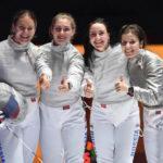 Подмосковные фехтовальщицы вывели сборную России на первое место общего зачета чемпионата мира