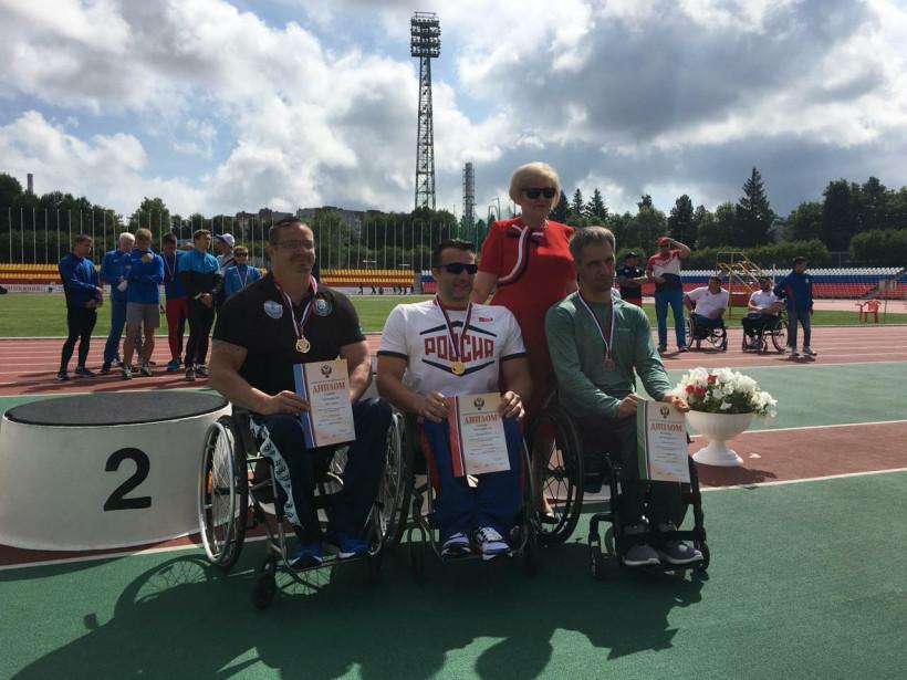 Подмосковные легкоатлеты-паралимпийцы завоевали 15 медалей и установили мировой рекорд на чемпионате...