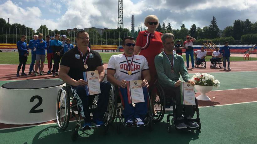 Подмосковные паралимпийцы завоевали 15 медалей на чемпионате России по легкой атлетике