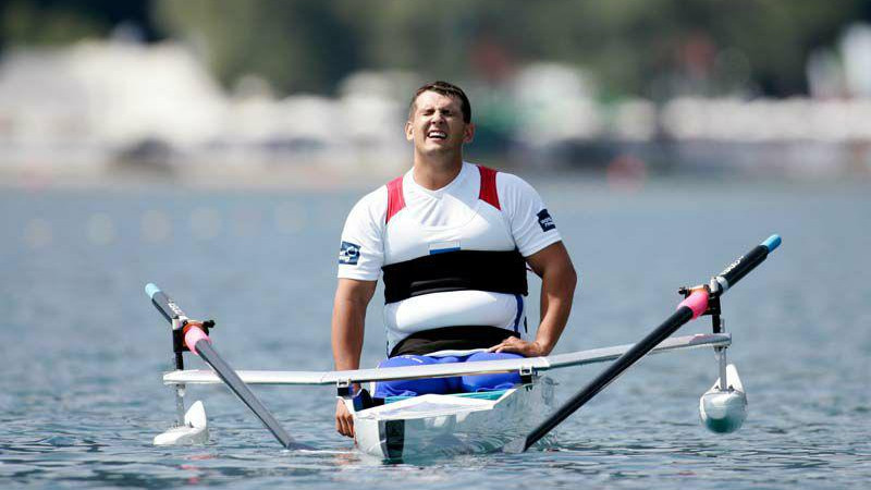 Подмосковный паралимпиец стал чемпион России по академической гребле