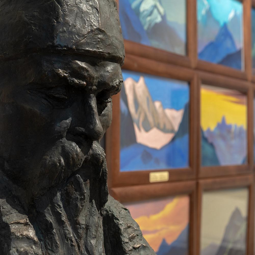 Пресс-показ обновленной экспозиции Музея Рерихов (ВДНХ)