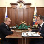 Президент России провел рабочую встречу с Министром культуры РФ Владимиром Мединским