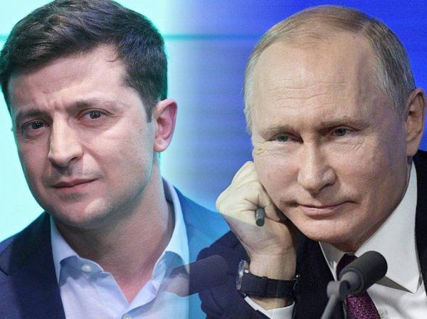 Путин впервые поговорил с Зеленским по телефону